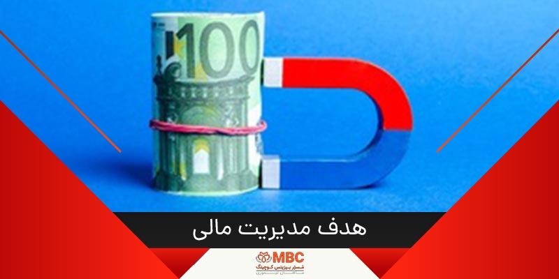 هدف از مدیریت مالی چیست؟