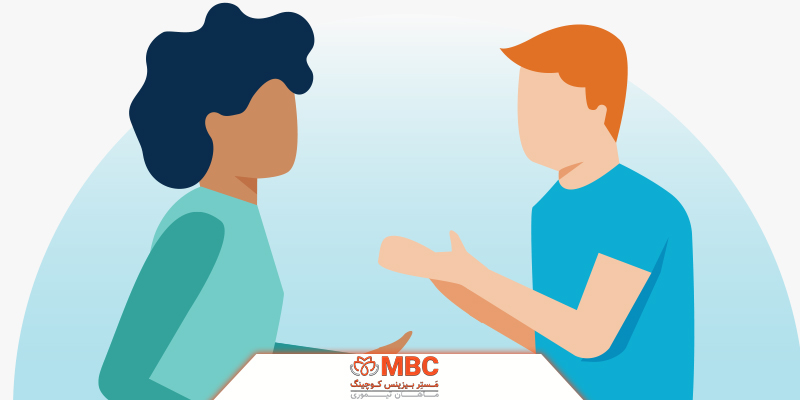خود را در صحبتها مشارکت دهید